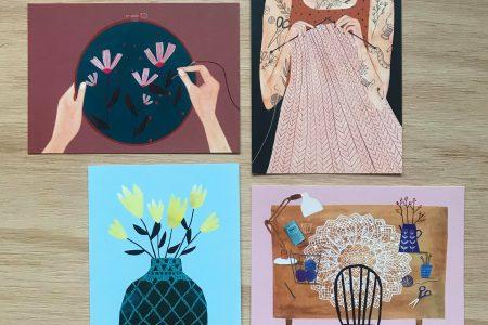 Set Freubelweb Ansichtkaarten
