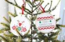 borduurpatroon kerstballen