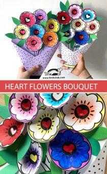 gratis printable bosje bloemen