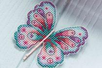 vlinderen borduren