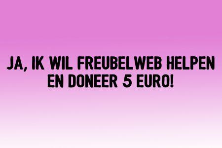 5 euro donatie