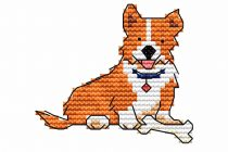gratis borduurpatroon hondjes