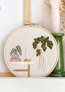 borduren plantenhoekje